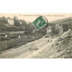 88 FONTENOY-LE-CHATEAU. Carrières du Moulin-Brulé 1909