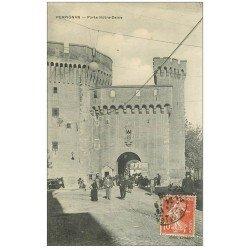 carte postale ancienne 66 PERPIGNAN. Porte Notre-Dame 1910