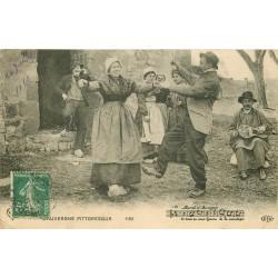 63 AUVERGNE. La Bourrée 1910