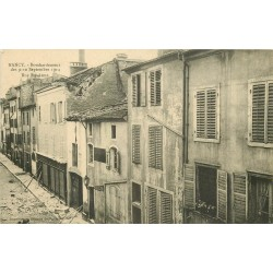 54 NANCY. Rue Sainte-Anne bombardée en Septembre 1914