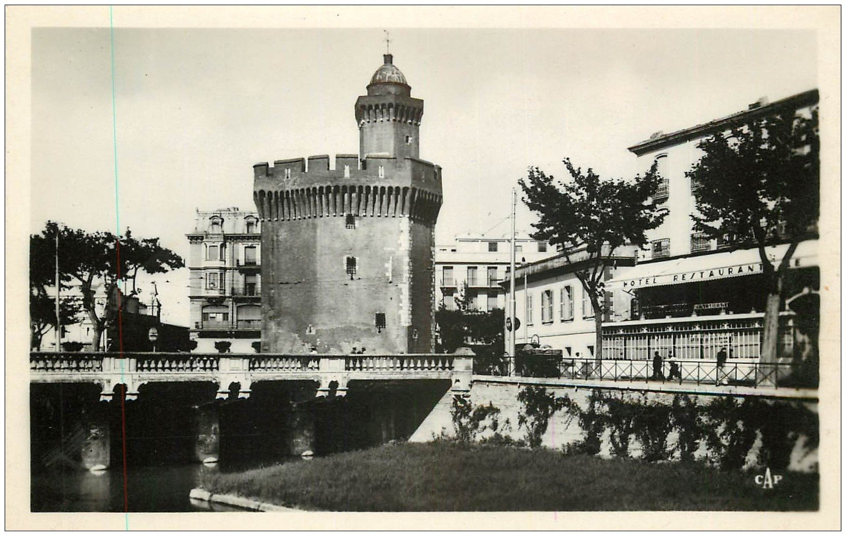 66 perpignan restaurant h tel de france et castillet for Carte de france hotel