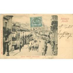 PALAZZOLO ACREIDE. Corso Vittorio Emanuele 1908