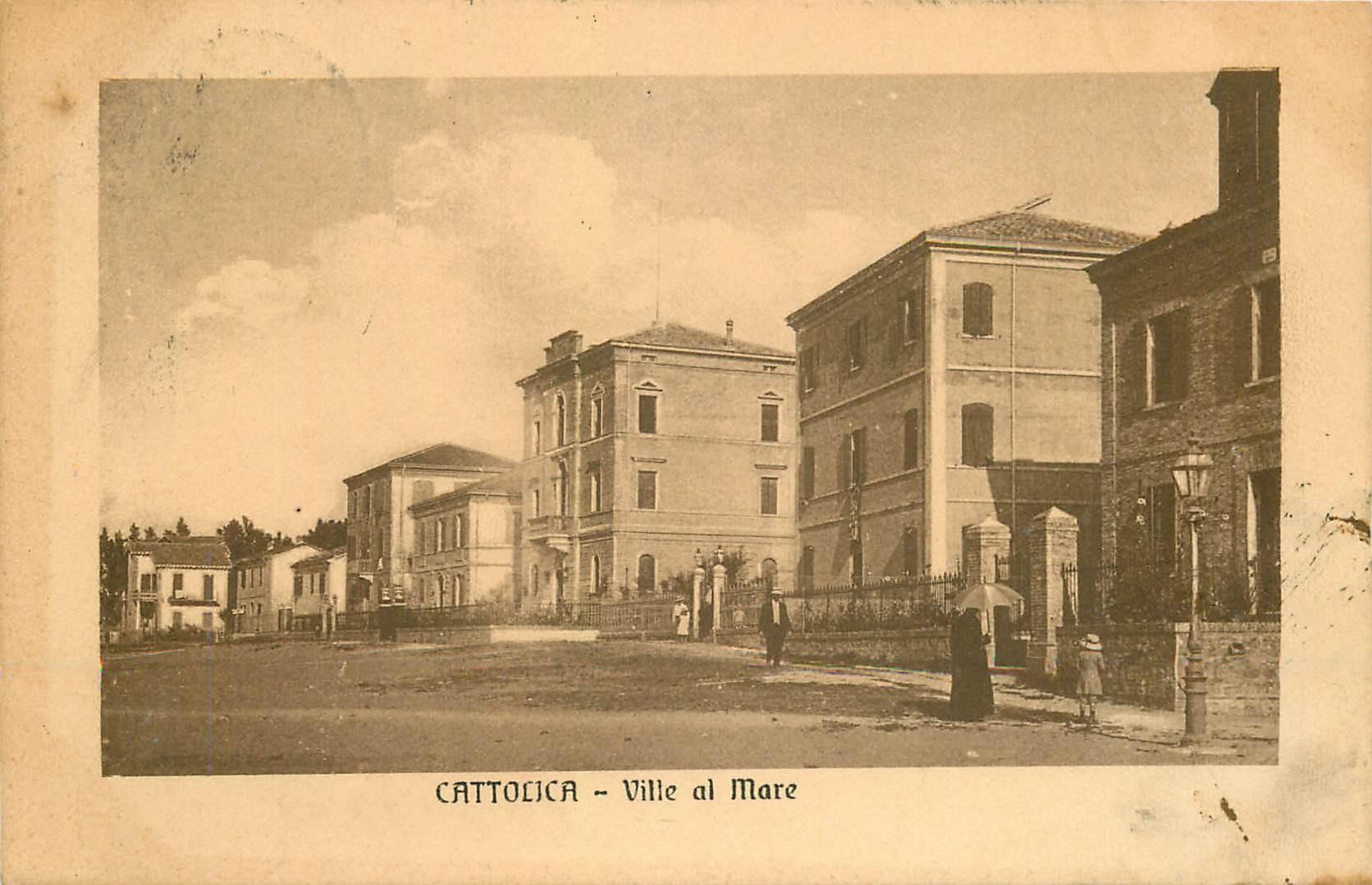 CATTOLICA. Ville al Mare 1911