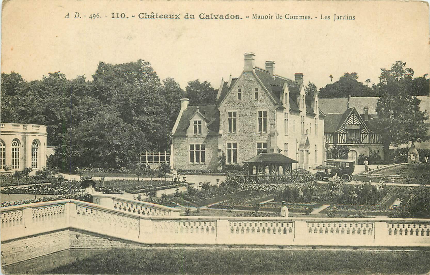 14 CHATEAUX DU CALVADOS. Manoir de Commes et les Jardins