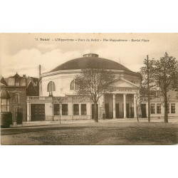 59 DOUAI. Hippodrome Place du Barlet écrite en sténographie...