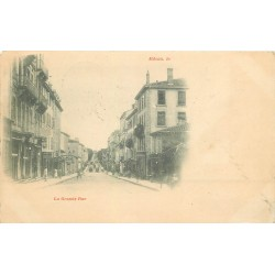 1900 TOP RARE 71 MACON. La Grande Rue oblitéré en 1900