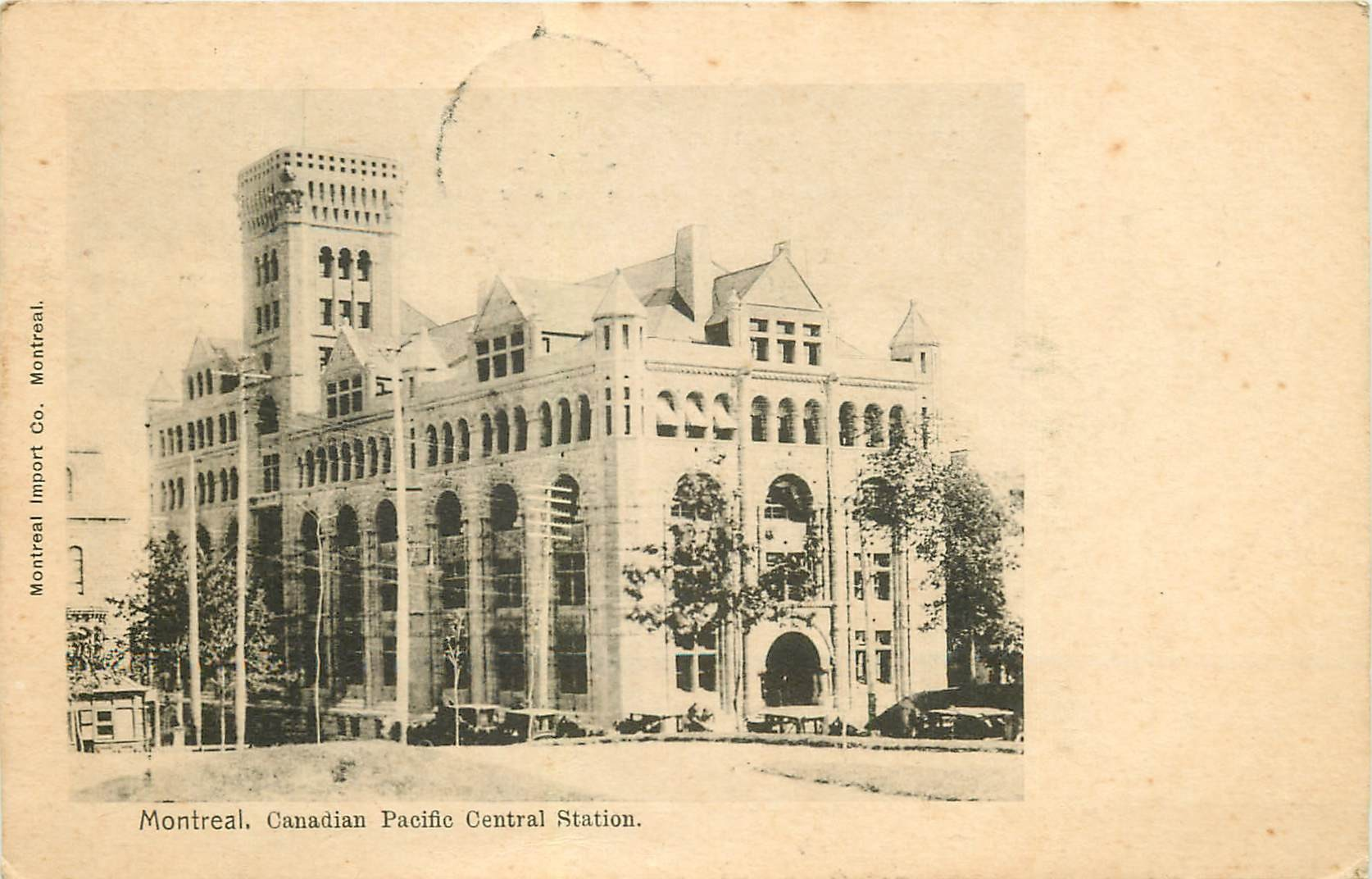 MONTREAL. Canadian Pacific Central Station 1903