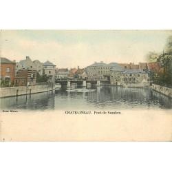 Belgique CHATELINEAU. 1903 Pont de Sambre