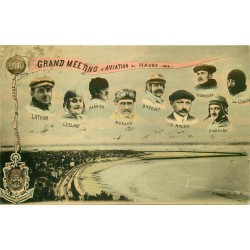 Grand Meeting Aviation au Havre 1910 avec les Pilotes