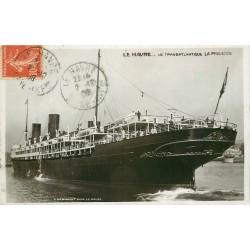 """LE HAVRE. Le Transatlantique """" La Provence """" 1908"""
