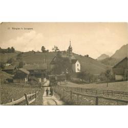 SUISSE. Bürglen b. Lungern 1920