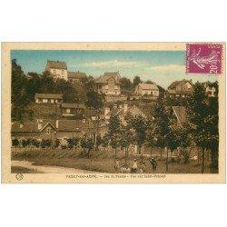 carte postale ancienne 02 VAILLY-SUR-AISNE. Jeu de Paume. Saint-Précord
