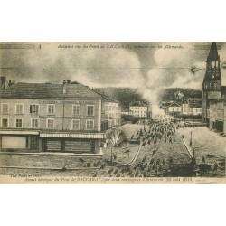 54 BACCARAT. Assaut historique du Pont 1917