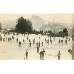 Photo Cpa Suisse VILLARS. La Patinoire 1926