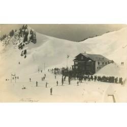Photo Cpa Suisse VILLARS. Le Restaurant 1926