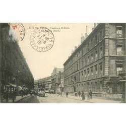 75 PARIS 10° La Maison Dubois faubourg Saint-Denis 1910