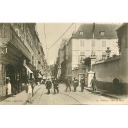 39 BREST. Capitaines de Marine rue de Siam