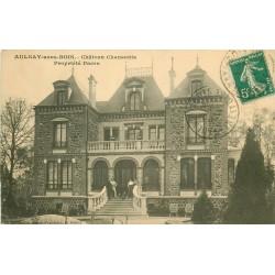 93 AULNAY-SOUS-BOIS. Château Chansonia Propriété Pacra animation 1911