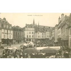 56 VANNES. Le Marché Place des Lices et Félix Potin vers 1900