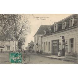 37 AVOINE. Café de l'Union sur rue Principale 1911 animation