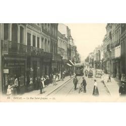 59 DOUAI. Au Chalet Suisse et magasin de cartes postales rue Saint-Jacques