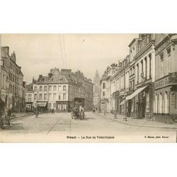 59 DOUAI. Attelage et Tabac rue de Valenciennes 1936