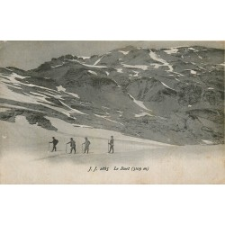 74 SIXT. Le Buet avec alpinistes 1921