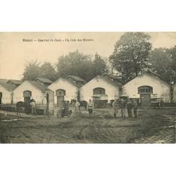 59 DOUAI. Quartier de Caux Coin des Ecuries 1925
