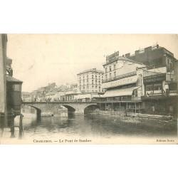 CHARLEROI. Le Pont de Sambre et Grands magasins à l'Innovation 1903