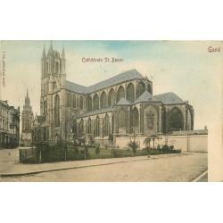 GAND GENT. Cathédrale St. Bavon 1903