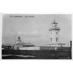 Photo cpa 76 SAINTE-ADRESSE. Les Phares 1909