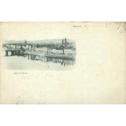 Rare 1900 carte précurseur 71 MACON. Quai du Nord
