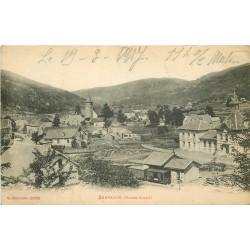 70 SERVANCE. Le Village et sa Gare avec train 1917