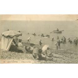 80 AULT-ONIVAL. L'Heure du Bain avec ombrelles 1912