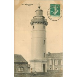 80 AULT-ONIVAL. Le Phare petite animation 1909