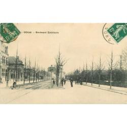 59 DOUAI. Boulevard Extérieur 1908