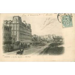 76 DIEPPE. La rue Aguado 1904
