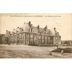 78 GRIGNON. Le Château Ecole Nationale d'Agriculture 1914