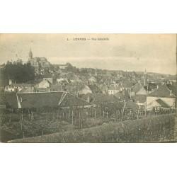 58 LORMES. Vue générale sur la Ville 1913