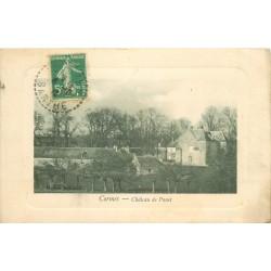 72 CORMES. Château de Panet 1916