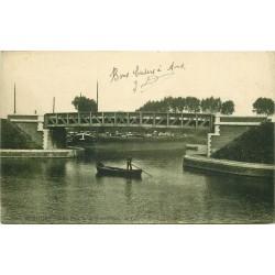 62 BETHUNE. Le Pont de la Gare d'Eau