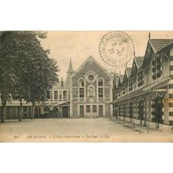 33 ARCACHON. Ecole Saint-Elme 1922
