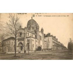 21 DIJON 1917. La Synagogue ouverte au culte en 1879