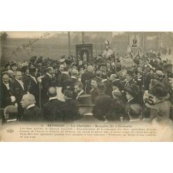 62 BETHUNE. Les Charitables rencontre des 2 Confréries 1914