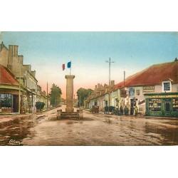 18 BRUERE-ALLICHAMPS. Café du Commerce au Centre de la France 1949