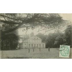 45 MILLERON. Le Château avec jeux d'enfants 1907