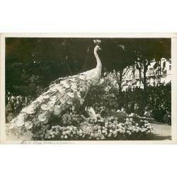 Suisse. MONTREUX. Fête des Narcisses 1923 le Paon