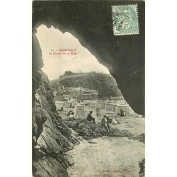 50 GRANVILLE. La Grotte de la Plage 1906