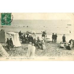 80 CAYEUX SUR MER. La Plage à l'Heure du Bain 1911