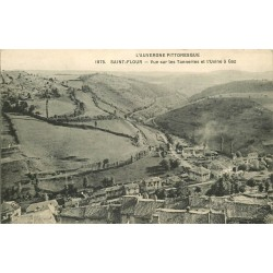 15 SAINT-FLOUR. Les Tanneries et l'Usine à Gaz 1912